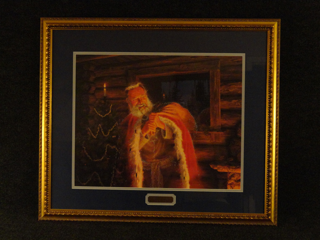 Stephen Lyman -The Spirit of Christmas- Original Lithograph Hand Signed and Numbered