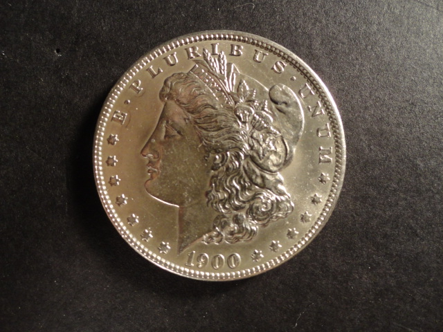 1900-O Morgan Silver Dollar AU to BU US Coin