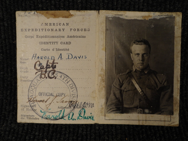 War Documents & Personal papers for Harold Albert Davis, 1800s to Early 1900s WWI & WWII AEF, Pearl Harbor, Presidential letters,Geneology of Meehan and Davis Family