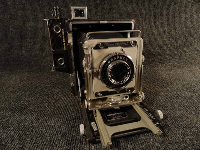 Graflex View Camera Graphex Lens 4.7 135mm Crown Graphic