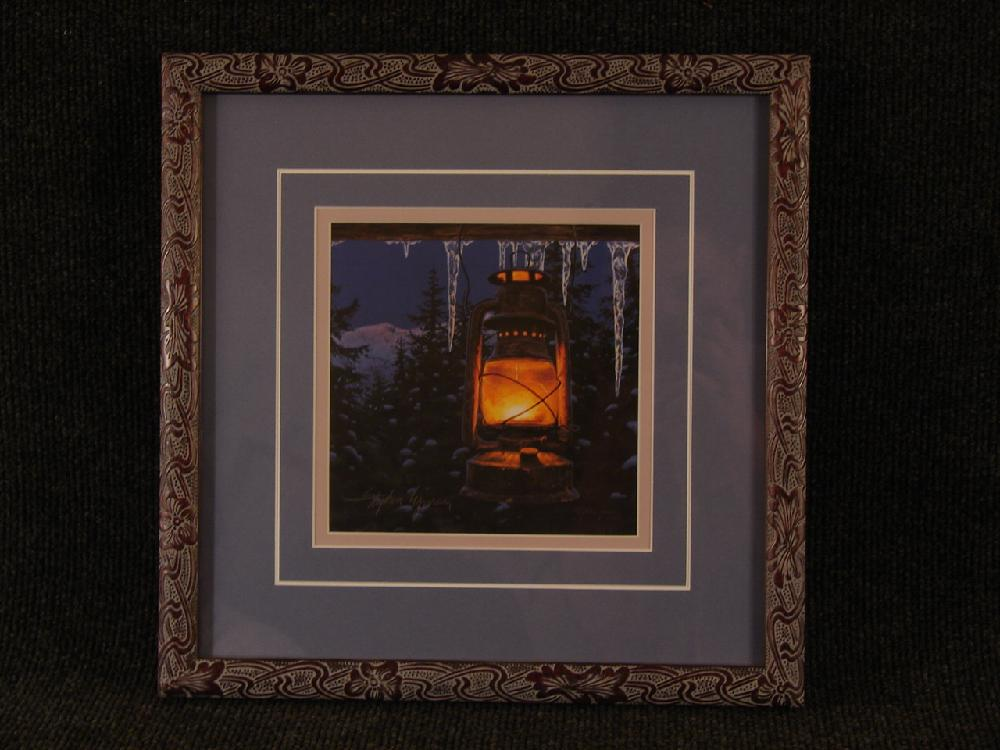 Stephen Lyman -Lantern Light- Original Lithograph Hand Signed and Numbered