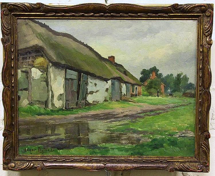 Bytebier Edgar (1875 - 1940) - Boerderij in