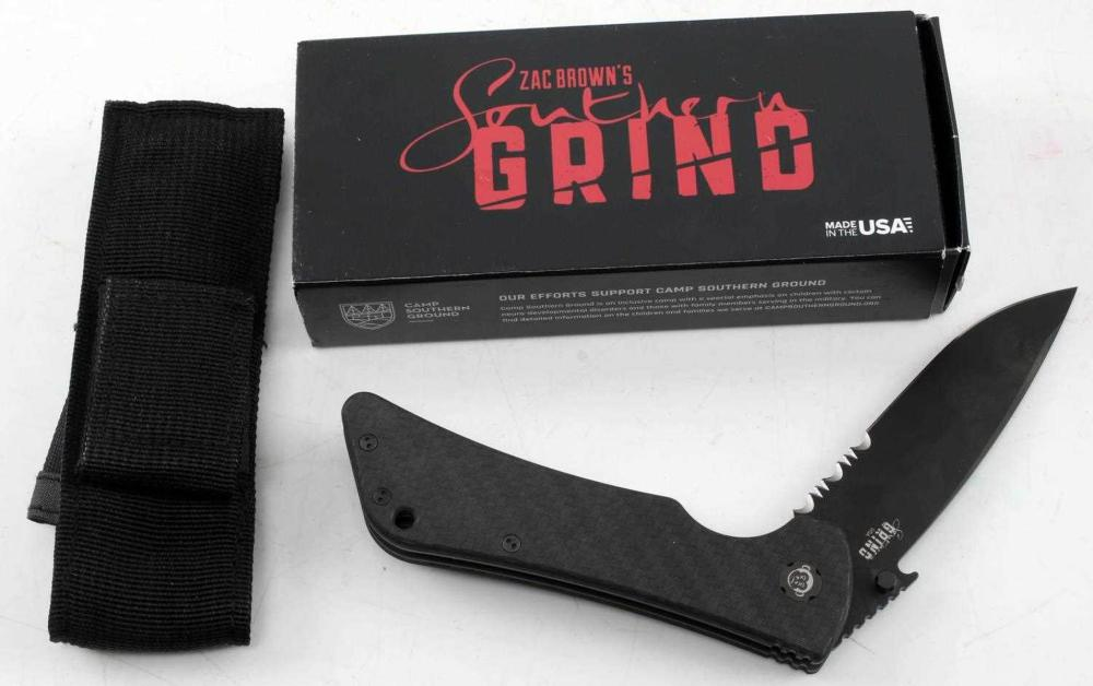 SOUTHERN GRIND BAD MONKEY EMERSON DROP POINT KNIFE