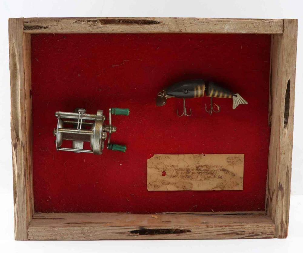 WORLD RECORD BASS REEL LURE USED BY GEORGE PERRY