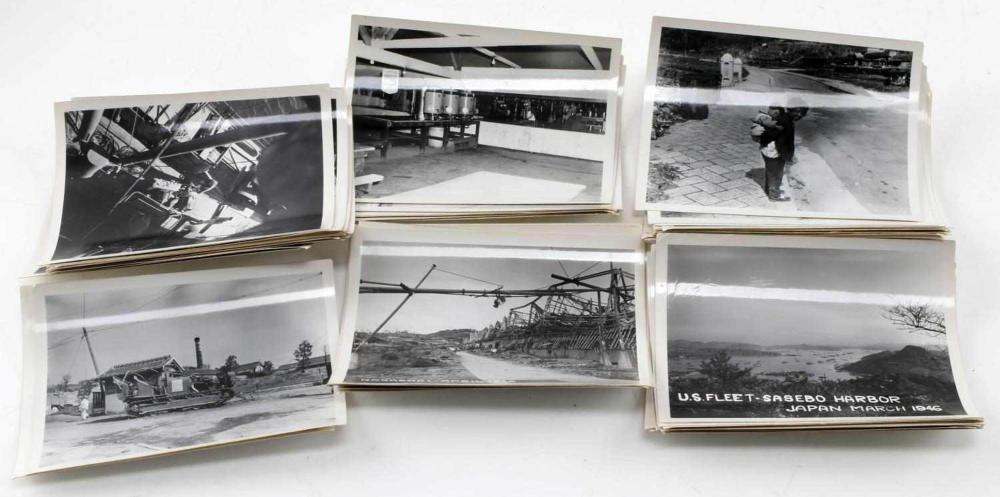 WWII JAPANESE OCCUPATION & NAGASAKI PHOTOGRAPH LOT