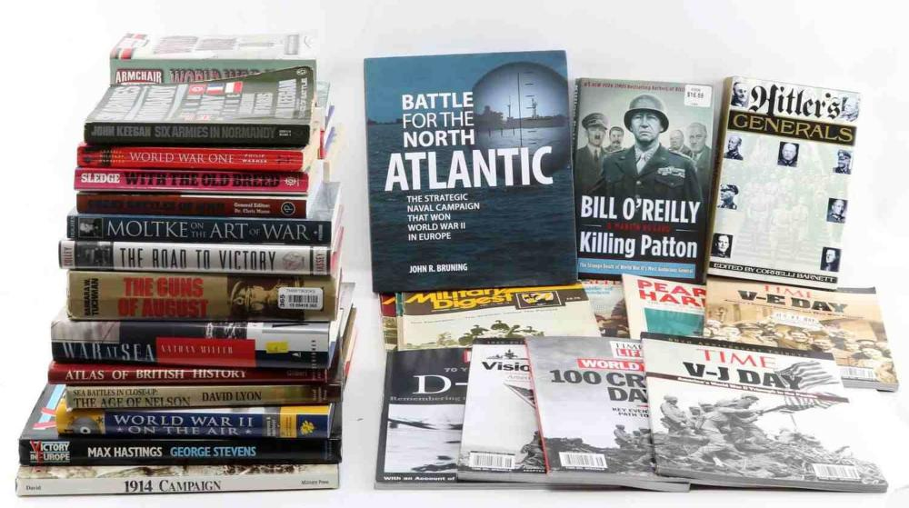 29 MILITARY TOPIC BOOKS WWI WWII GERMAN US MORE