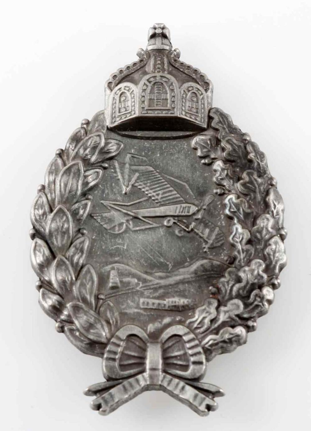 WWI IMPERIAL GERMAN AIR FORCE PILOT BADGE