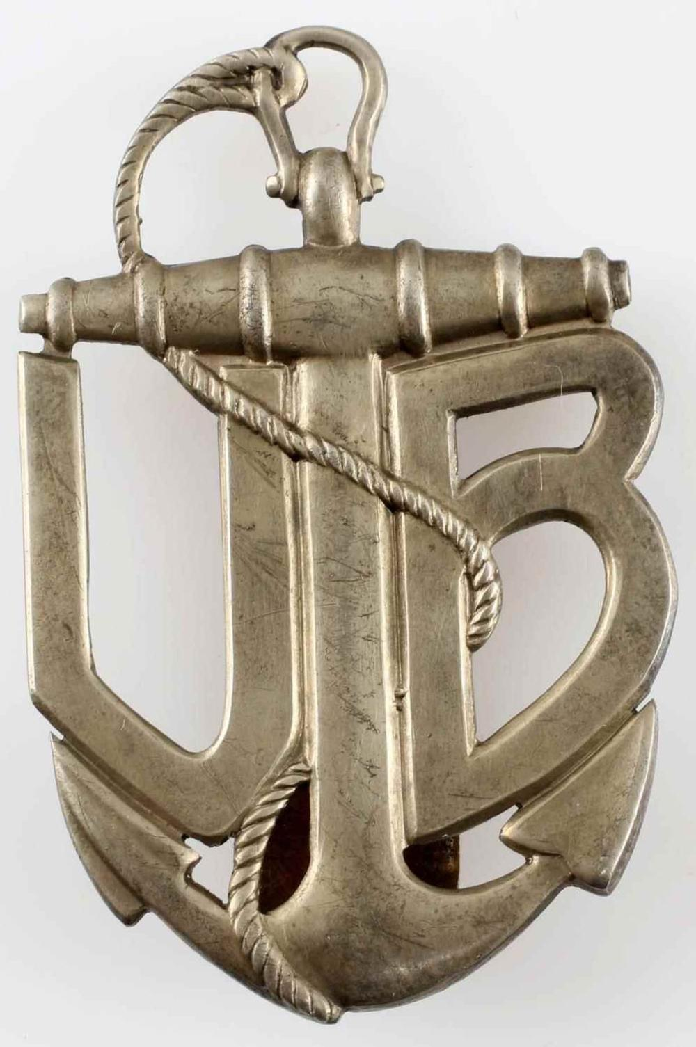 WWI AUSTRO HUNGARIAN MONARCHY U BOAT BADGE