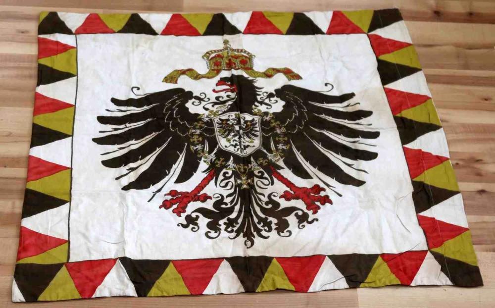 WWI IMPERIAL GERMAN COTTON REICHADLER BANNER