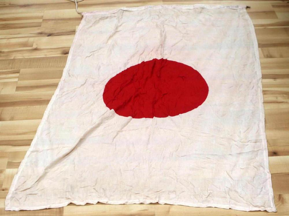 WWII IMPERIAL JAPANESE ARMY MEATBALL BATTLE FLAG
