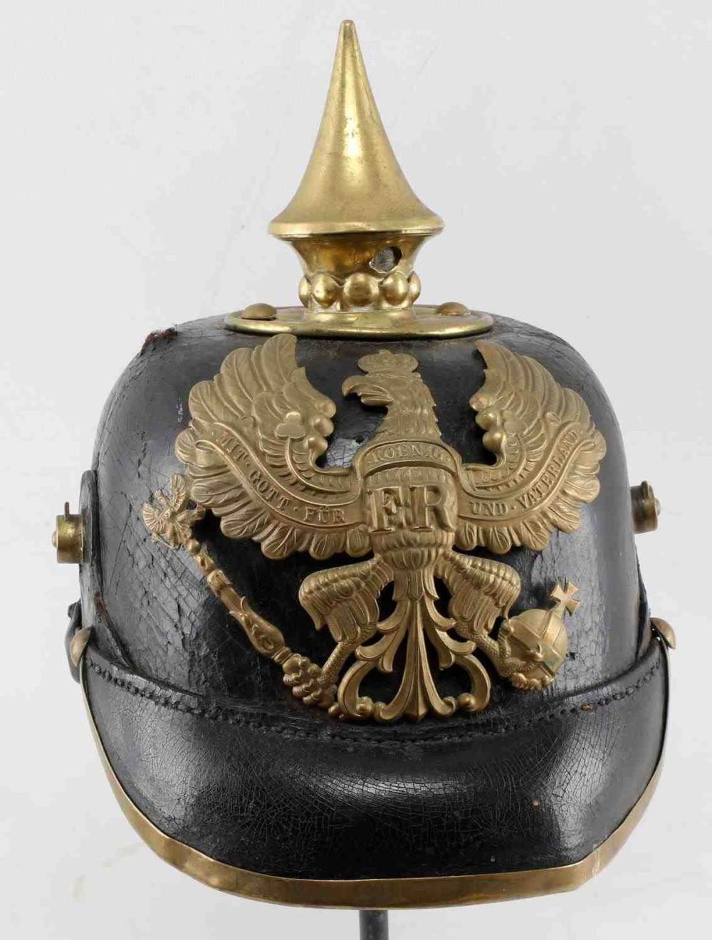WWI IMPERIAL GERMAN PICKELHAUBE HELMET