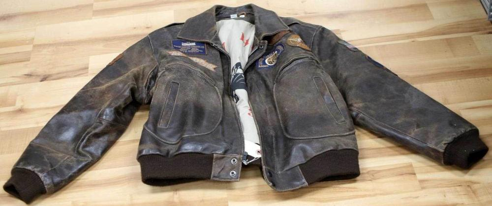 US AIRFORCE ARMS DEPARTMENT BENCAT LEATHER JACKET