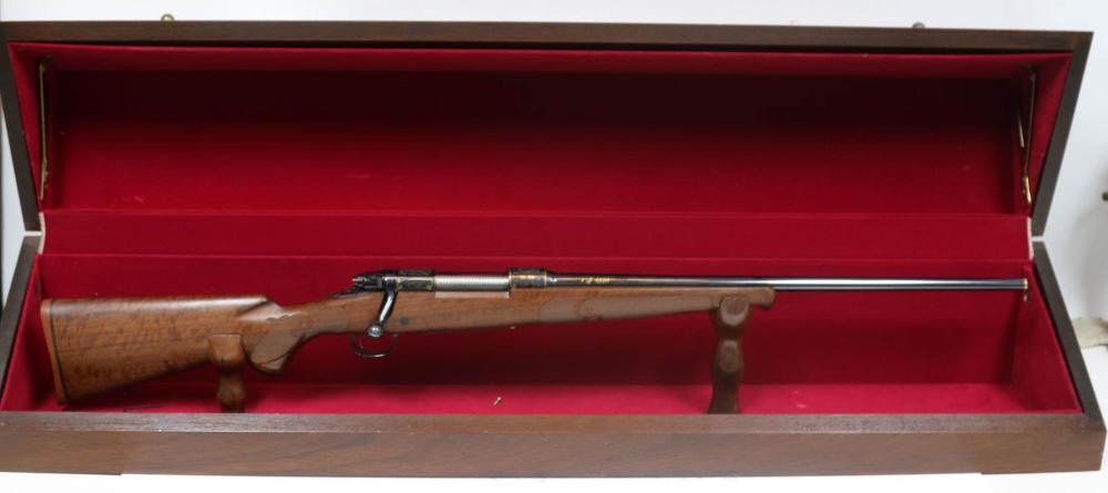 WINCHESTER 1 OF 1000 ENGRAVED MODEL 70 RIFLE