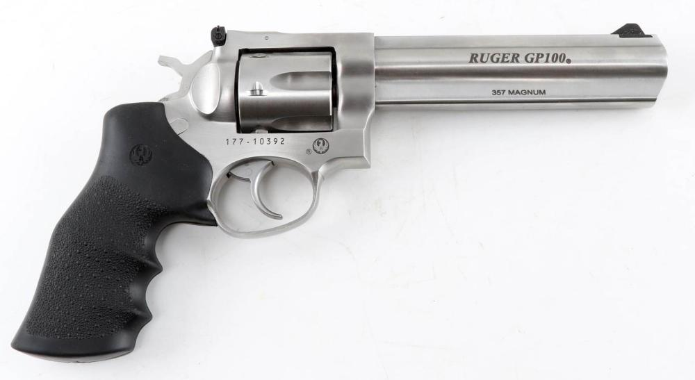RUGER GP100 .357 MAGNUM DOUBLE ACTION REVOLVER