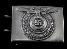 GERMAN WWII WAFFEN SS ENLISTED MANS  BELT BUCKLE