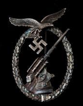 GERMAN WWII LUFTWAFFE FLAK ARTILLERY BADGE