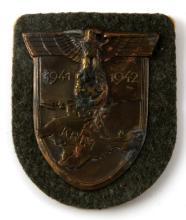 WWII GERMAN THIRD REICH HEER 1941 1942 KRIM SHIELD