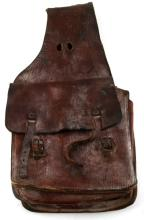 ANTIQUE LEATHER WESTERN SADDLE BAGS
