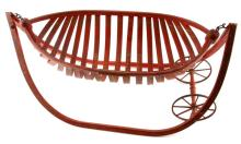 1876 PATENT BENTWOOD FIELD CRADLE FORD JOHNSON