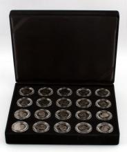 BOXED SET OF 20 1999 SUSAN B. ANTHONY PROOF DOLLAR