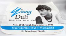 POSTER OF DALI WORKS FROM 1914 TO 31 ST PETERSBURG
