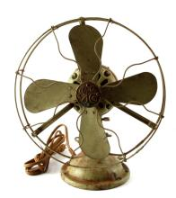 ANTIQUE GE 12 INCH ALTERNATING CURRENT FAN AUU