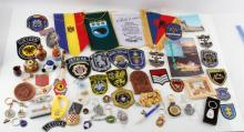 LOT OF EAST EUROPE INSIGNIAS BADGES COLLECTIBLES