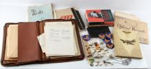 WWII USAAF B17 PILOT ARCHIVE FROM TRAINING ON