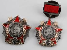 SET OF 2 SOVIET MILITARY BADGES RUSSIAN USSR