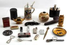 ASSORTED LOT OF 20 PLUS VINTAGE HOUSHOLD ITEMS