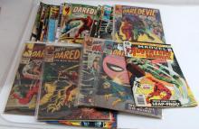 LOT OF 24 - DAREDEVIL COMIC BOOKS MARVEL 4-174