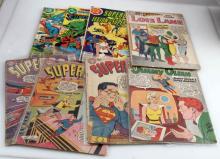 LOT OF 8 - SUPERMAN COMICS DC LOIS LANE SUPERBOY
