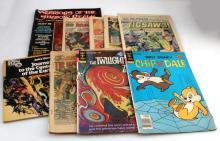 LOT OF 9 - MIXED COMIC BOOKS TWILIGHT ZONE THOR