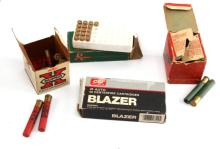 GROUPING OF 4 VINTAGE BOXES OF UNCOMMON AMMUNITION