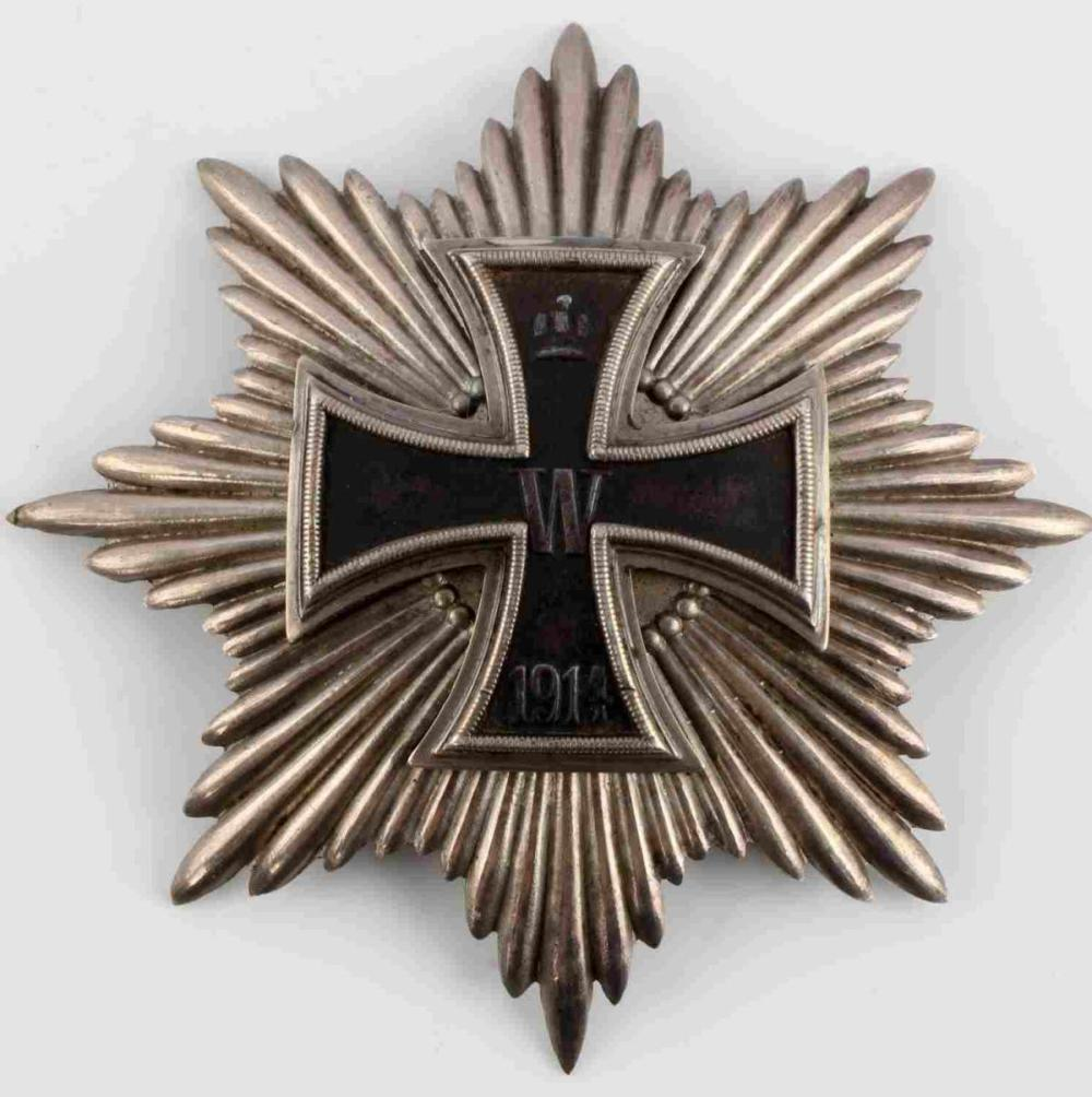WWI IMPERIAL GERMAN GRAND STAR IRON CROSS