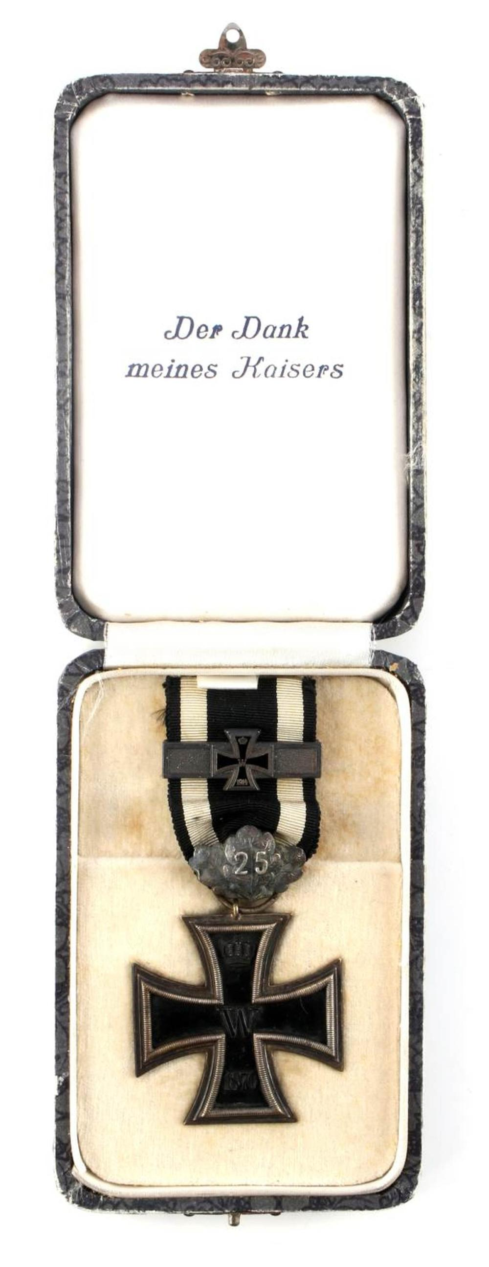 IMPERIAL GERMAN 1870 IRON CROSS 2ND CLASS MEDAL