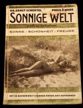 GERMAN 1920S NUDIST PUBLICATION SONNIGE WELT