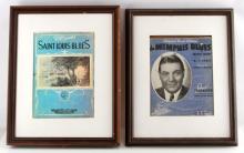 W.C. HARDY AUTOGRAPHED BLUES SHEET MUSIC BOOK LOT