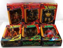 6 BRAND NEW IN BOX X MEN ACTION FIGURES