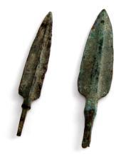 ANCIENT BRONZE AGE ARROWHEAD LOT