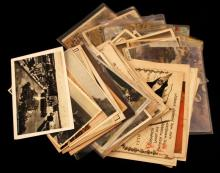 LOT OF 60 MIXED WWII ERA POSTCARDS GERMANY RUSSIA