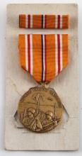 WWII US ASIATIC PACIFIC CAMPAIGN MEDAL AND RIBBON