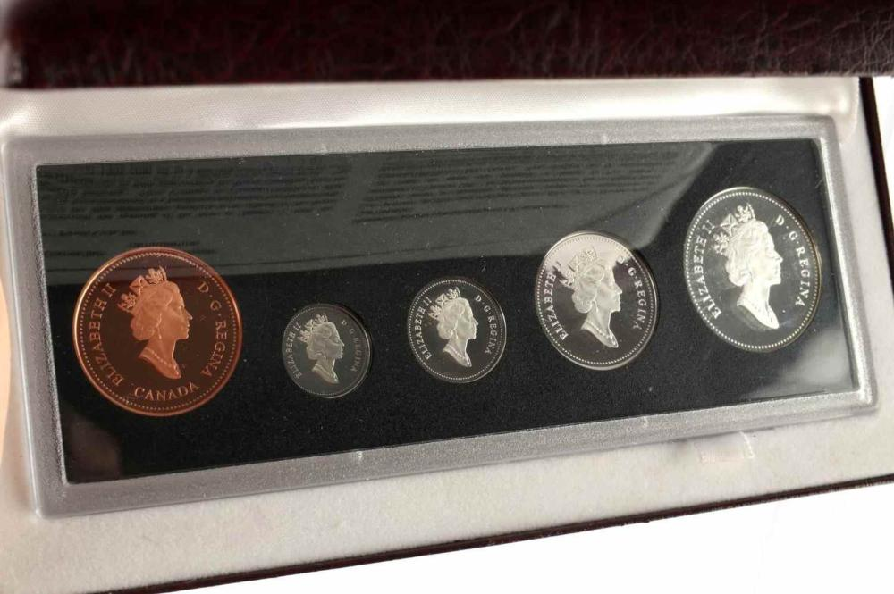 SILVER ROYAL CANADIAN MINT 90TH ANNIVERSARY SET