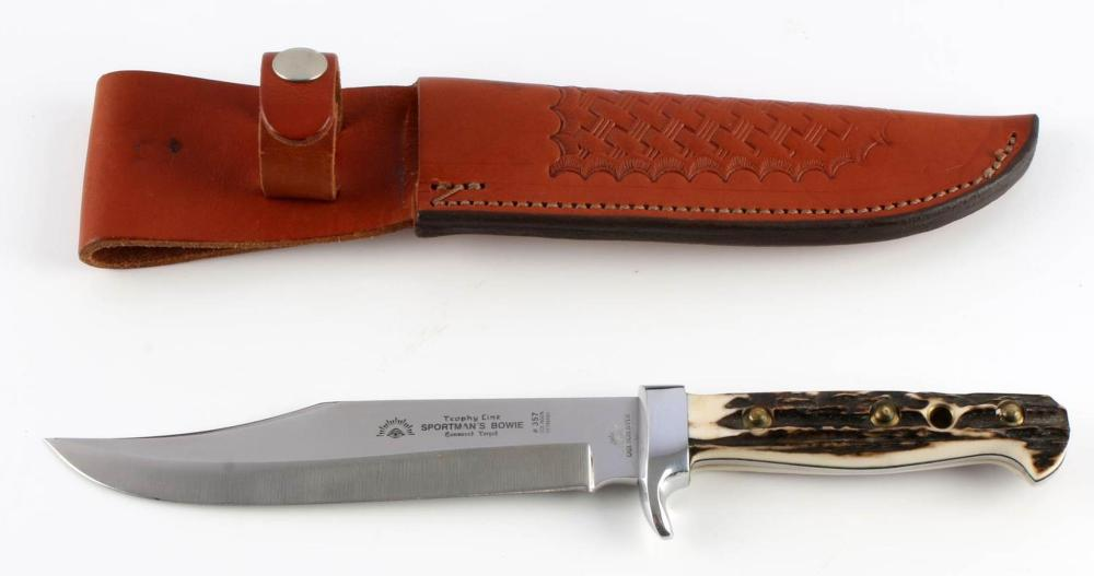 CARL SCHLIEPER SOLINGEN SPORTMAN BOWIE KNIFE