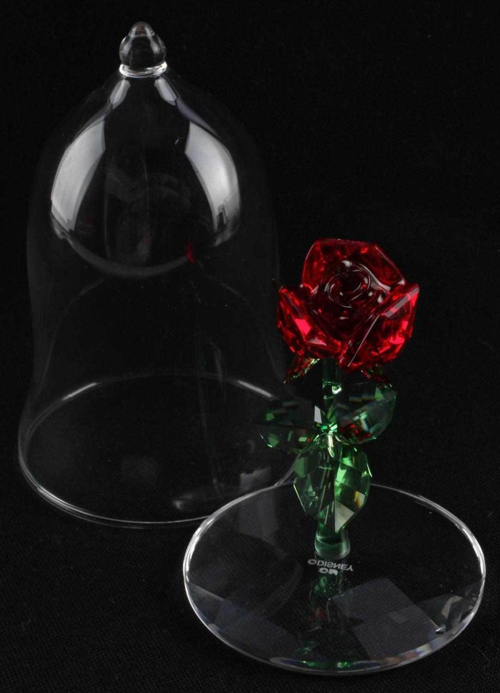 SWAROVSKI DISNEY BEAUTY & THE BEAST ENCHANTED ROSE
