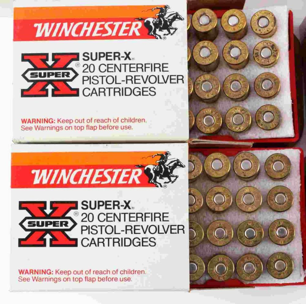 160 ROUNDS OF 41 REM MAG WINCHESTER AMMUNITION