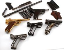 WWI WWII LUGER LOT & PARTS