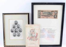 Confederate States of America Currency for Sale at Online