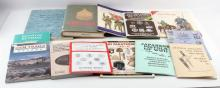 LOT OF 12 BOOKS AND PAMPHLETS MILITARY HISTORY