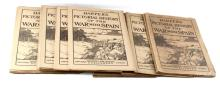ANTIQUE LOT HARPERS PICTORIAL HISTORY WAR W SPAIN